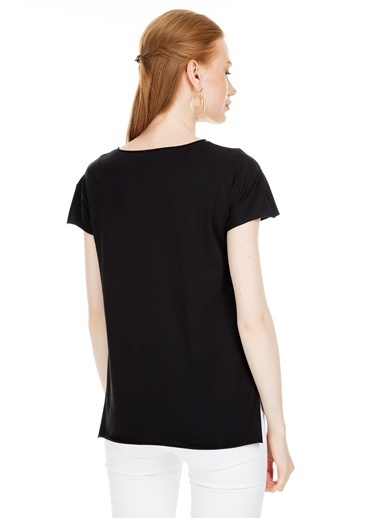 Lela Tişört Siyah